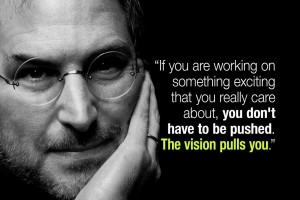 Your Vision Pulls You To Succeed